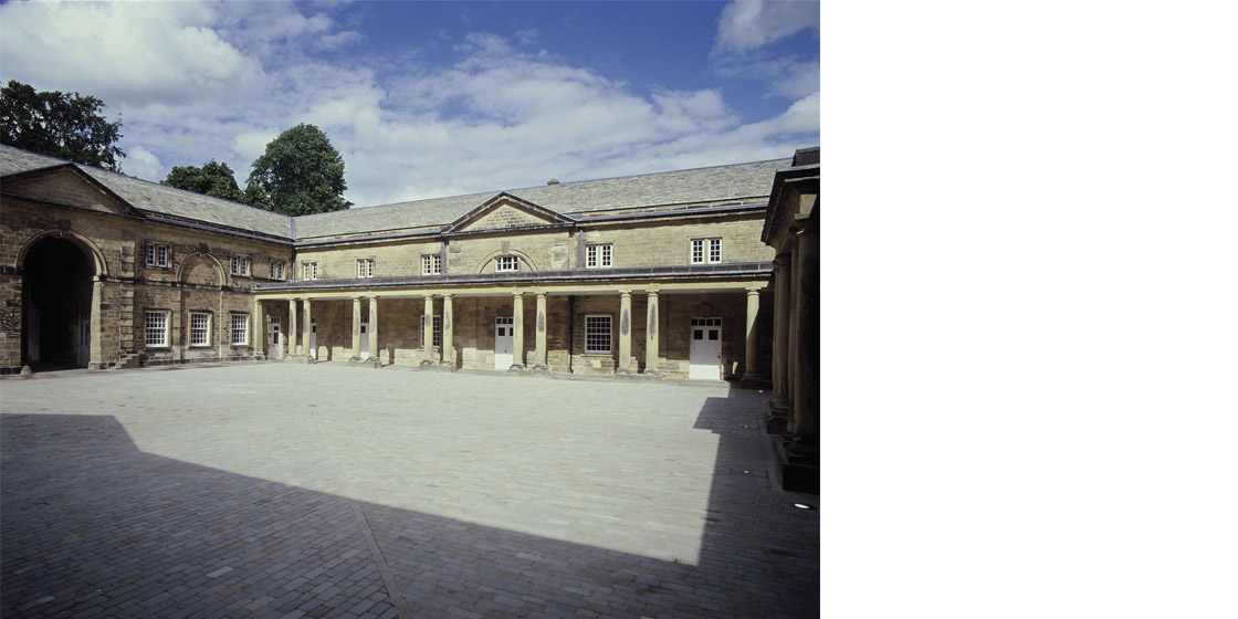 Harewood house stables courtyard visitors centre for Harewood house garden design